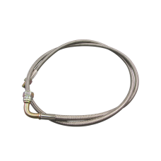 "51"" AN4 4AN AN 4 NTP 1/8 Braided Oil Feed Line Stainless Steel"
