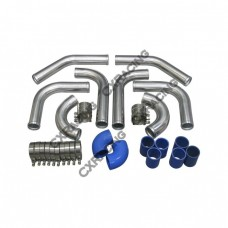 "2.25"" UNIVERSAL TURBO INTERCOOLER PIPING KIT WITH PIPE 120 DEGREE"