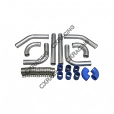 "2.5"" UNIVERSAL TURBO INTERCOOLER PIPING KIT WITH PIPE 120 DEGREE for WRX IMPREZA"