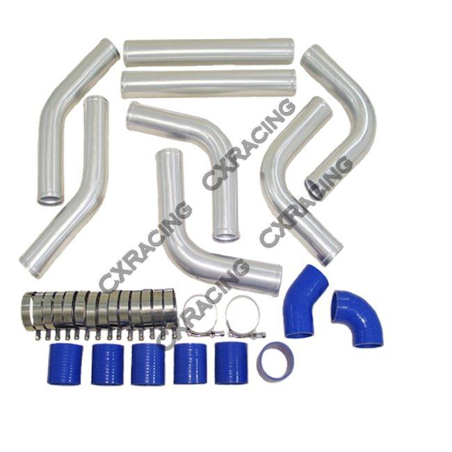"Ford Universal Turbo Kit: 2.5"" UNIVERSAL TURBO MANIFOLD INTERCOOLER PIPING KIT"