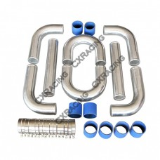 "2.5"" Aluminum Piping Pipe Kit for MR2 90 91-94"