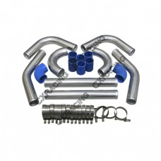 "2.75"" UNIVERSAL TURBO INTERCOOLER PIPING KIT WITH PIPE 120 DEGREE"