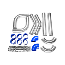 """DIY 8PC 3"""" INTERCOOLER PIPING + PIPE 120 DEGREE for MR2 CELICA GT GTS AE86"""