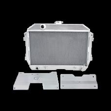 Radiator + Mounting Brackets Kit For 1960-66 Chevrolet C10 Truck LS1 LQ