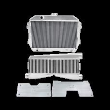 Radiator Intercooler Mounting Brackets Kit For 60-66 Chevrolet C10 Truck LS1 LQ