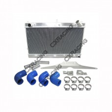 Radiator + Radiator Pipe Kit For 83-89 Z31 300ZX VG30ET