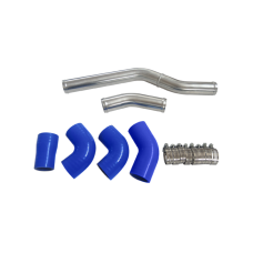 Radiator Hard Pipe Kit For BMW E36 with 2JZ-GTE VVTI Swap, Stock Twin Turbo