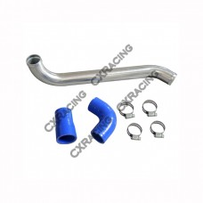 "1.5"" Aluminum Radiator Hard Pipe Kit for BMW E46 with LS1/LSx Swap"