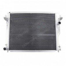 "Aluminum Radiator Shroud + 12"" Electrical Fans For 05-14 Ford Mustang"