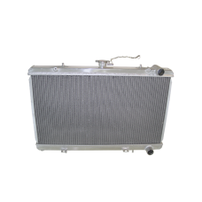 Aluminum Radiator For 89-94 Nissan 240SX S13 with KA24 (Stock US Model) Engine or RB20 Engine Swap