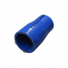 "1.5"" to 1.3"" 76mm Enforced Universal Blue Silicon Hose Reducer"