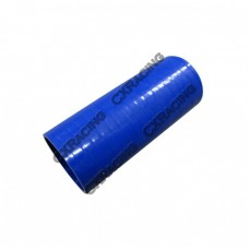 """Blue Silicon Hose Coupler 2"""" Straight For Intercooler Pipe 6"""" Long"""