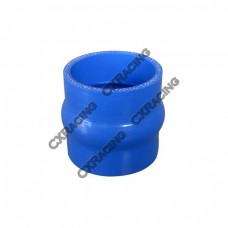 "Universal Silicon 2"" Hump Hose Coupler Blue for Turbo Intercooler Pipe"