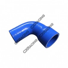 "2""-1.6"" 90 Deg Blue Silicon Hose Coupler For Turbo Intercooler Pipe"