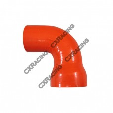 "2""-1.6"" 90 Deg Red Silicon Hose Coupler For Turbo Intercooler Pipe"