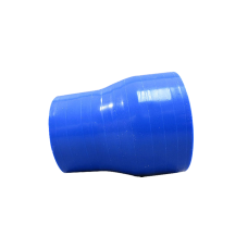 """2.25""""-1.5"""" Blue Straight Silicon Hose Reducer for Intercooler Pipe 3"""" Long"""