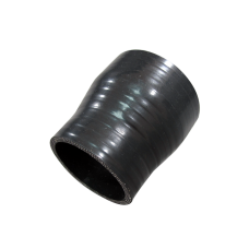 """2.25""""-2"""" Black Silicon Hose Reducer Coupler for Intercooler Pipe 3"""" Long"""