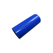 """Blue Silicon Hose 2.5"""" Straight For Turbo Intercooler Pipe 6"""" Long"""