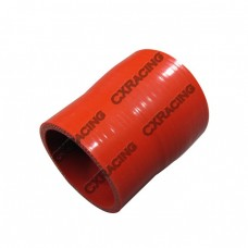 "2.5""-2.25"" Red Silicon Hose Reducer For Intercooler Pipe"