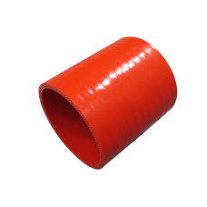 """2.75"""" Red Straight Silicon Hose Coupler 3"""" Long for Intercooler Pipe"""