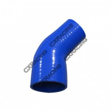 "2.75""-2"" 45 Deg Blue Silicon Hose Reducer For Intercooler Radiator Pipe"
