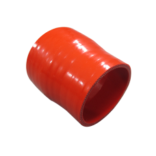 """2""""-1.6"""" Red Silicon Hose Reducer for Turbo Intercooler Pipe 3"""" Long"""