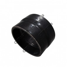 "2.75"" - 2.63"" Black Silicon Hose Reducer Coupler Straight Intercooler Pipe"