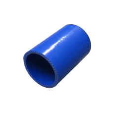 """3"""" Straight Blue Silicon Hose Coupler for Turbo Intercooler Pipe 4.5"""" Long"""