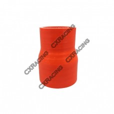 """Red Silicon Hose 2.5""""-3"""" Reducer For Intercooler Pipe"""