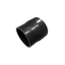 "3.25"" - 3"" Black Straight Silicon Hose Reducer Coupler Pipe 3"" Long"