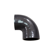 "3.25"" 90 Deg Black Elbow Silicon Hose Coupler for Turbo Intercooler"