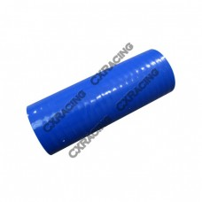 """Blue Silicon Hose Coupler 3.5"""" Straight For Intercooler Pipe 6"""" Long"""