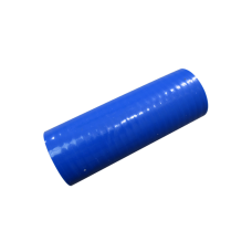 "3.5"" Straight Blue Silicon Hose Coupler for Intercooler Pipe 6"" Long"