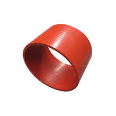 """Red Silicon Hose 3.5"""" Straight For Turbo Intercooler Pipe 3"""" Long"""