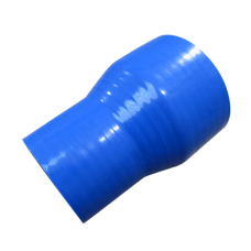 "3.5"" to 2.75"" Blue Silicon Hose Coupler Reducer Straight 100mm long"