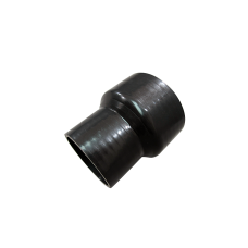 "Universal 5""- 4"" Black Silicon Hose Reducer For Intercooler Intake Pipe 4.5"" Long"