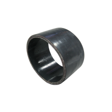 """4.25"""" Straight Black Silicon hose Coupler for Turbo Intercooler pipe 55mm Long"""
