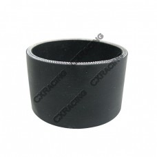 """Black Silicon Hose 4.25"""" Straight For Turbo Intercooler Pipe 55mm Long"""
