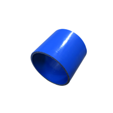 """4.1"""" Straight Blue Silicon hose Coupler for Turbo Intercooler pipe 55mm Long"""