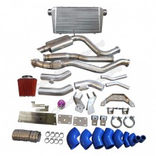 Intercooler Kit Downpipe Catback For 2JZ-GTE Engine R154 Mount 240Z 260Z 280Z