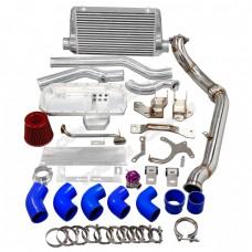 Engine Transmission Mounts Downpipe Intercooler Oil Pan Kit For SR20DET 240Z 260Z