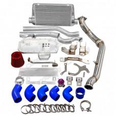 Engine Alternator Mount Downpipe Intercooler Piping Oil Pan Kit For SR20DET 240Z 260Z