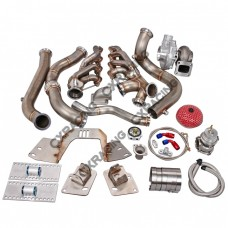 Turbo Downpipe Engine Transimission Mount Kit For 82-92 Camaro LS1 T56 Swap