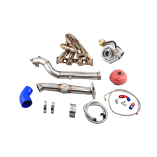 T3 Turbo Manifold Downpipe Kit For 99-05 Miata NB 1.8L Engine
