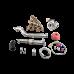 T3 Turbo Manifold Downpipe Kit For 99-05 Miata NB 1.8L Engine
