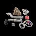 T28 Turbo Manifold Downpipe Kit For 99-05 Miata NB 1.8L Engine