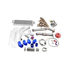 GT2871 Ball Bearing Turbo Intercooler Kit For 99-05 Mazda Miata 1.8L