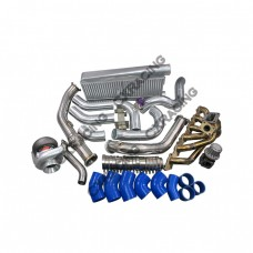 T4 T70 Turbo Intercooler Kit For Land Cruiser J80 1FZ-FE 1FZ 1FZFE