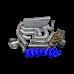 T4 T76 Turbo Intercooler Kit For Land Cruiser J80 1FZ-FE 1FZ 1FZFE