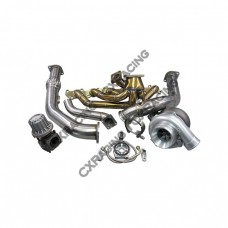 T4 T70 Turbo Kit Manifold Downpipe For Land Cruiser J80 1FZFE 1FZ-FE 1FZ